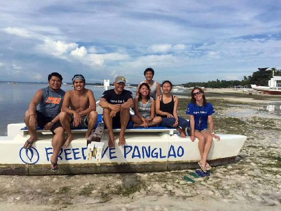 Learn freediving at  Freedive Panglao
